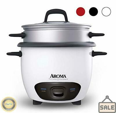 Aroma Housewares 6-Cup Cooked  3-Cup UNCOOKED Pot Style Rice