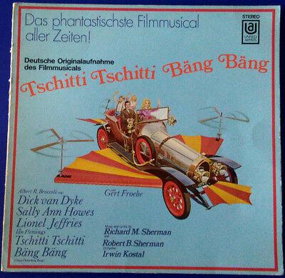 Tschitti Tschitti Bäng Bäng -  Deutsche Originalaufnahme des Filmmusicals LP FOC