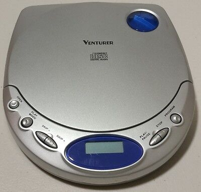 Venturer - -Personal CD Player DM8300-00 - Tested, Works ()