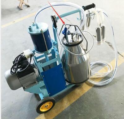 110v Electric Milking Machine Milker Machine 1440 Rpm 10 Cowsh Double Handles