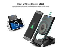 wireless charger portable brand new and universal for iPhone 8, samsung s7, s8edge