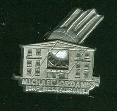 Michael Jordan's The Restaurant Pewter Hat/Lapel Pin