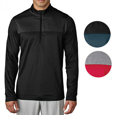 Adidas Climawarm Novelty 1/4 Zip Layering Golf Pullover Mens New - Choose Color!