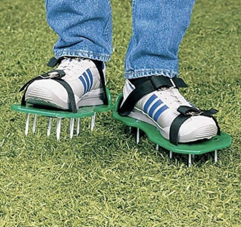 Wealers Lawn Aerator Foot Shoes Set One Size fits all