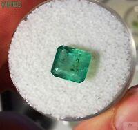 Splendido Smeraldo Naturale 1,90 Ct Ottimo Taglio E Colore Non Trattato - natura - ebay.it