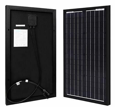 Renogy 30 Watt 12 Volt Monocrystalline Solar Panel Marine Cabin Rv Tiny Home