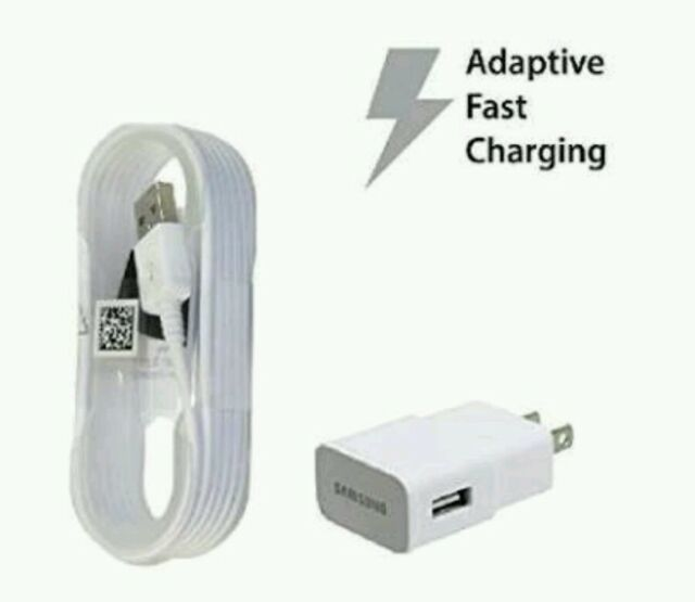 SAMSUNG GENUINE FAST CHARGER US PLUG+2X Note 4 Fast Cable 1.5M + FREE AU Adaptor