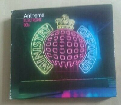 Ministry of Sound Anthems Electronic 80s 3CD Best Of Greatest