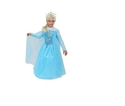 Maske Kostüm von Karneval Prinzessin von Schnee - Elsa Corona - Corona Kostüm