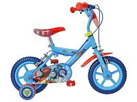 Thomas Tank Engine Childs bike with stabilisers