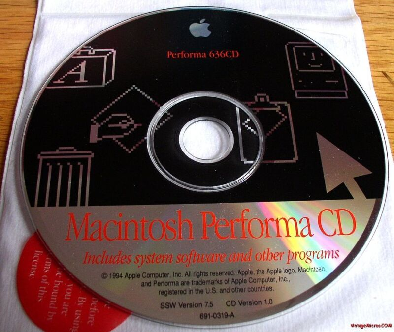 Mac Performa 636 Restore CD