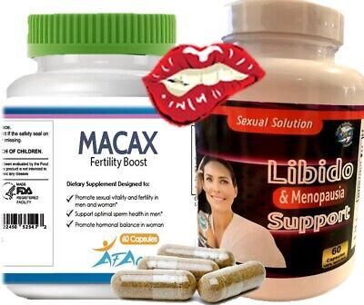 pastillas naturales para aumentar libido femeninadeseo sexual en la mujer + maca