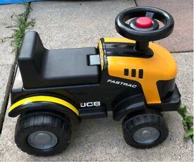 JCB Fastrac Kids Ride-On Tractor