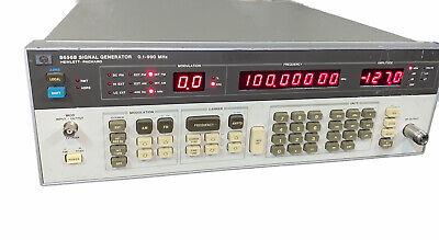 Hp 8656b Signal Generator 0.1-990 Mhz Agilenthewlett-packard