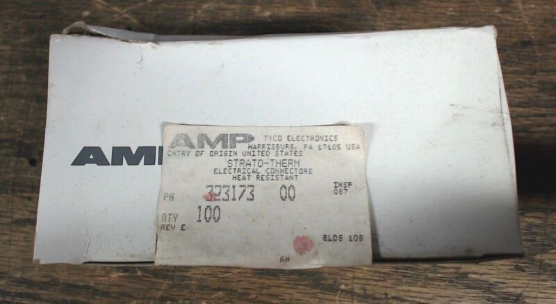 AMP 323173 Strato-Therm electrical connectors 4 awg high temperature   qty 100