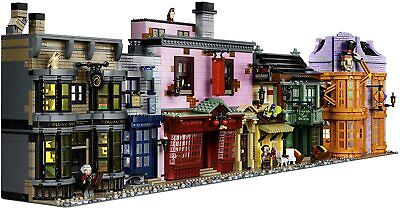 LEGO Harry Potter Diagon Alley 75978 [Lego Building Kit Ages 16+ 5544 Piece] NEW