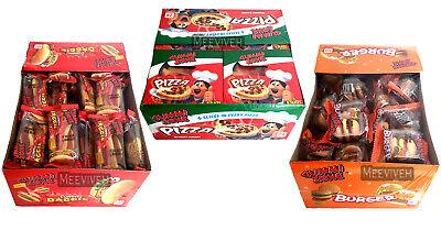 GUMMY MINI PIZZA / BURGER / HOT DOGS SWEETS NOVELTY CANDY GUMMI ZONE - FULL - Gummy Pizza