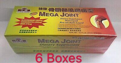 - 6 Boxes Mega Joint Dietary Supplement Liquid Health Glucosamine Chondroitin MSm