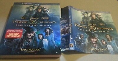 Slipcover And Artwork Of Pirates Of The Caribbean Dead Men Tell No Tales