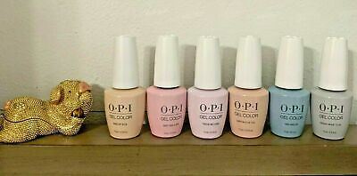 Always Collection (OPI Always Bare For You Collection Spring 2019 GelColor Gel Polish