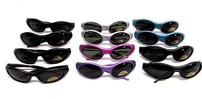 Youth Kids Sunglasses baseball beach cool wrap around frame sporty Lot of 12