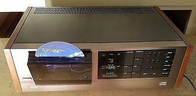 RARE! Hi-End Kyocera DA-01 World's 1st CD Player Vertical Load Japan Made READ!