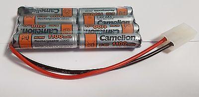 RC Modellbau Akku 9,6V 1100mAh Tamiya-Stecker AAA Ni-MH L4x2 für Toys RC Modelle gebraucht kaufen  Bolanderhof