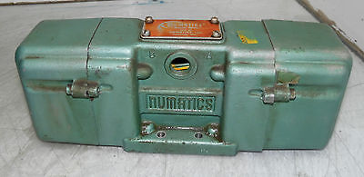 Numatics Pneumatic Valve,  #  6DSA4 U, 115V Coil, Used,  WARRANTY