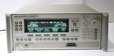 Hp 83623a 10mhz To 20ghz Synthesized Sweep Signal Generator Opt 001 004 008