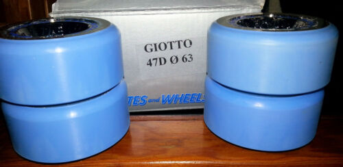 Roll-Line Giotto 47D 0 63 Roller Skating Wheels (6 Total)