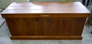 New Timber English Oak Blanket Box Toy Storage Bed Chest Melbourne CBD Melbourne City Preview