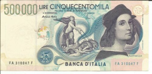 ITALIA ITALY 500000 LIRE 1997  P 118. VF CONDITION.  7RW 27MAI