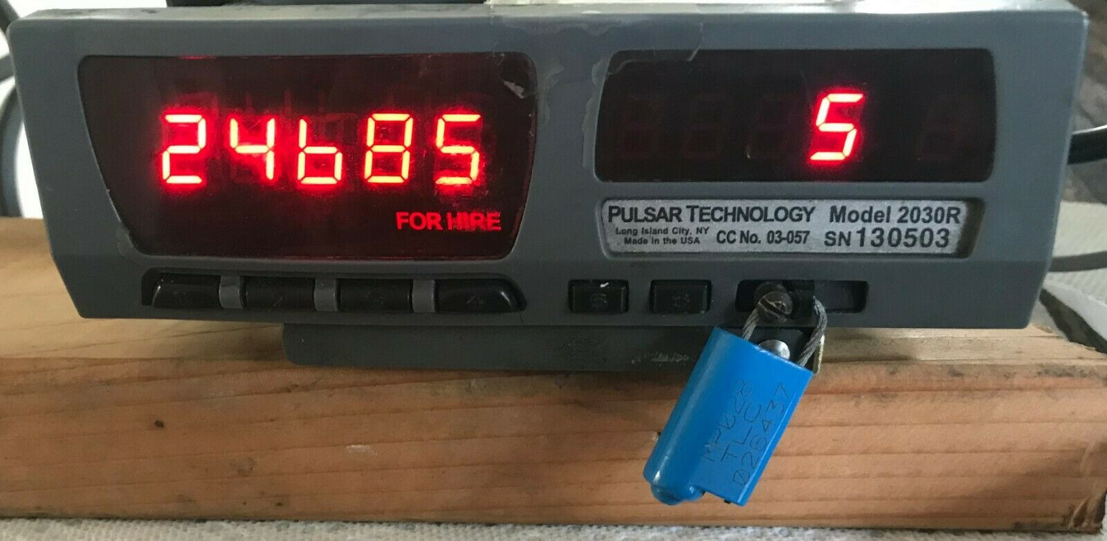 Photo Pulsar Technology Model 2030R Smart Taxi Meter - FREE SHIPPING