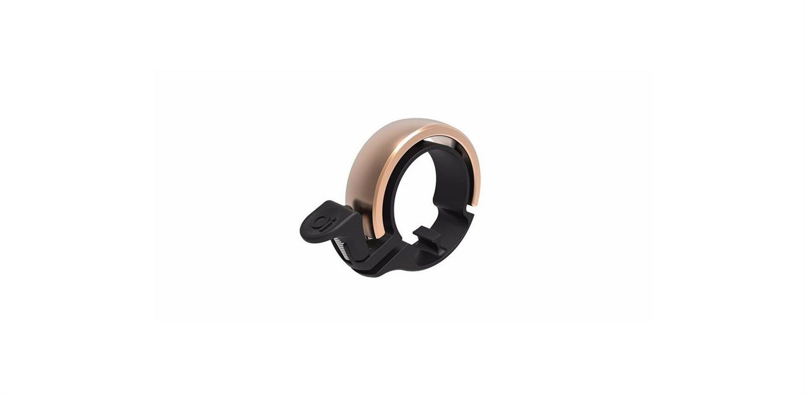 Knog Oi classique large invisible bicycle copper bell 23.8mm-31.8mm