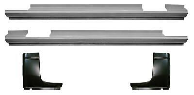 Slip-on Rocker Panel & Cab Corner Kit Crew Quad Cab for 94-02 Dodge Ram 1500