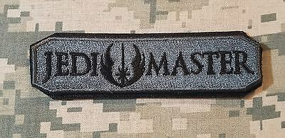JEDI MASTER ARMY TAB USA MORALE ACU DARK BADGE PATCH VELCRO® BRAND FASTENER