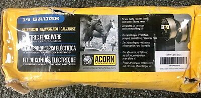 New Acorn International Efw1414 12-mile 14-gauge Galvanized Fence Wire Freeship