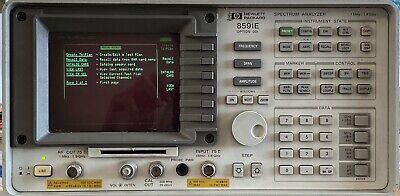 Hp 8591e Spectrum Analyzer Wopt 001 023 101 102 140