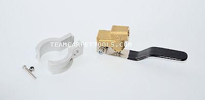 Carpet Cleaning Upholstery / Auto Detail Hand Tool KINGSTON Valve +BONUS Bracket