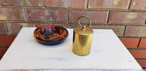 Vintage Brass Pull Up Cigarette Dispenser England Golden Grove Tea Tree Gully Area Preview