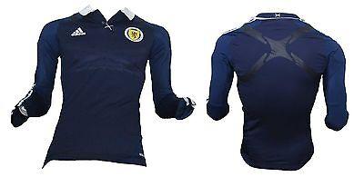 Schottland Trikot Adidas Player Issue Techfit LS