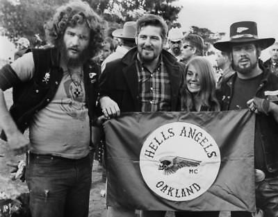 Hells Angels Motorcycle Gang Oakland California Chapter 60's 8.5x11 Photo