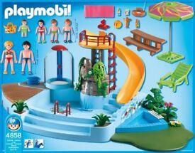 Playmobil Swimming Pool 4858