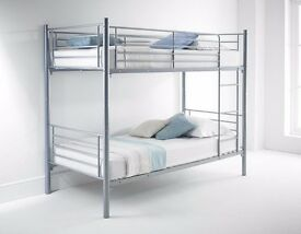 Study Metal Bunk Bed with Mattress Bunkbed - EXPRESS DELIVERY!!