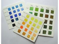 """""""Colour Mixing for Watercolours""""with Michele Webber Half day Workshop in Colchester"""
