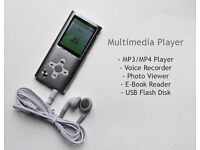 Silver Multimedia MP3 player (8GB)