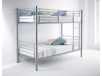 **WOW KIDS OFFER**SINGLE ADULT BUNK BED SPLIT IN TO 2 SINGLE BUNK BED WITH SEMI ORTHOPAEDIC MATTRESS