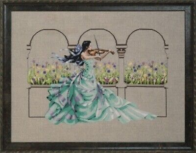 Garden Prelude - Mirabilia - Chart, Beads, Specialty Thread