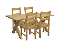 Home of Style Didsbury Dining Table - TABLE ONLY