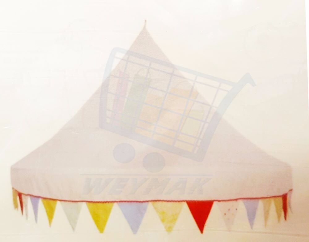 Ikea Bed Canopy Uni White With Coloured Bunting Brand New In Packaging
